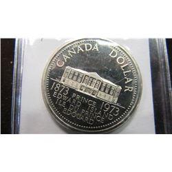 1873 - 1973 CANADA PRINCE EDWARD ISLAND PROOF DOLLAR