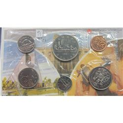 1981 CANADA MINT SEALED COIN SET