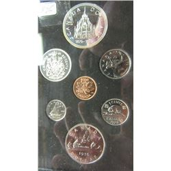 1976 CANADA PROOF CASED DOUBLE DOLLAR SILVER COIN SET