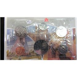 1986 CANADA PROOF MINT SEALED COIN SET