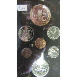 1977 CANADA DOUBLE DOLLAR SILVER COIN SET