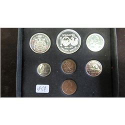 1974 CANADA DOUBLE PENNY MINT COIN SET