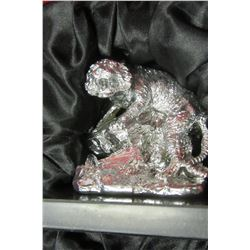 NEW SILVER COLORED TIGER ORNAMENT - CHOICE