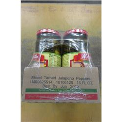 MEZZETTA SLICED TAMED JALAPENO'S (6 JARS) - PER CASE
