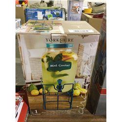 Yorkshire Mint Cooler 1 Gallon Beverage Dispenser