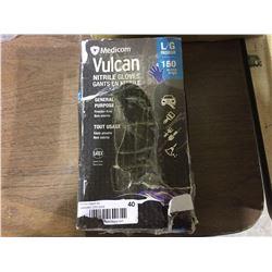 Vulcan Nitrile Gloves LG