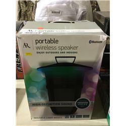 AR Portable Wireless Bluetooth Speaker