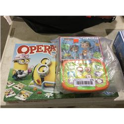 Rusty Rivets Toy and Minions Operation Game Lot of 2
