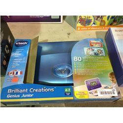 vTechBrilliant Creations Genius Junior Beginner Laptop