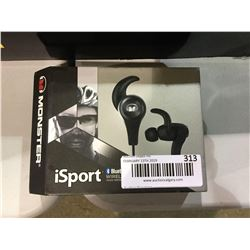 Monster iSport Wireless Bluetooth In-Ear Headphones