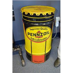 Pennzoil Oil Drum