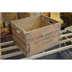 Vintage Soap Box
