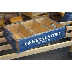 """Vinatge """"General Store"""" Box"""