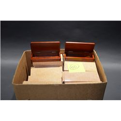 Lot of Wooden Gift Boxes