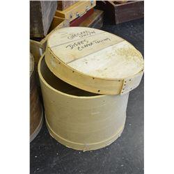 Round Shipping Box