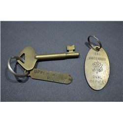 Brass Keys & Key Chain