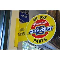 Chevrolet Sign (Repro)