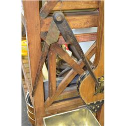 Vintage Wooden Compass