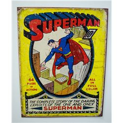 Fantasy Superman Sign