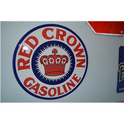 Fantasy Red Crown Gas Sign