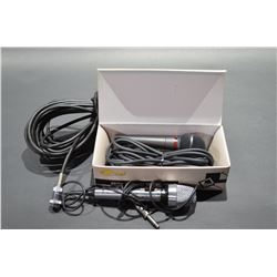 Lot of 2 Microphones with extension cord