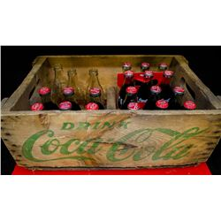 Coca-Cola Crate and bottles