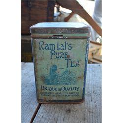 Ram Lal's Pure Tea - Collector Tin