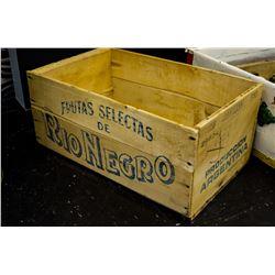 """""""Rio Negro"""" Wooden Box"""