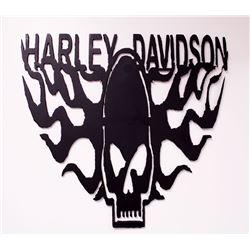Steel Harley Davidson Sign