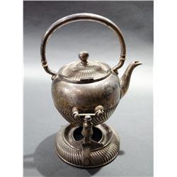 Antique Teapot & Pouring Cradle