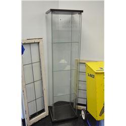 Newer Ikea Glass Shelving Unit