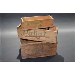 Lot of Old Cheese Boxes - Great Shape!