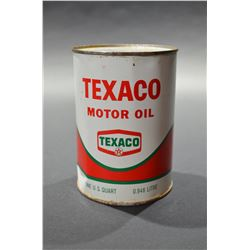 Texaco Oil Can (Unopened)