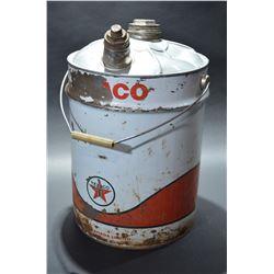 Texaco Oil Pail