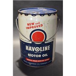 Havoline Oil Pail