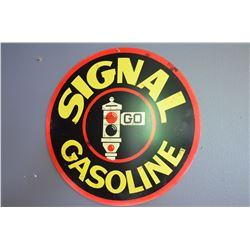 Signal Gas Sign (Repro)