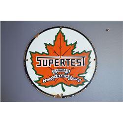 Supertest (porcelain) Sign