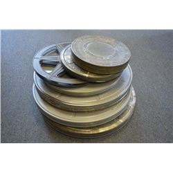 Lot of old Movie Reels & Cases