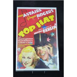 """Fred Astaire & Ginger Rogers """"Top Hat"""" Poster"""