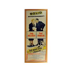1956 Original Movie Poster The Solid Gold Cadillac