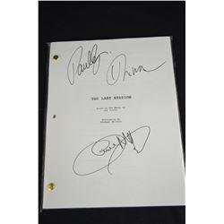 3 - Autographed Movie Scripts