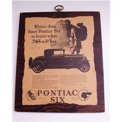 Set of Vintage Automotive Plaques
