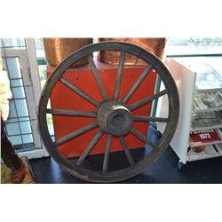 Large Wagon Wheel - Good Shape!