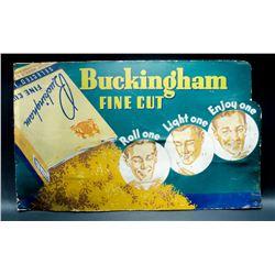 Vintage Cardboard Tabacco Sign - (Great Shape!)