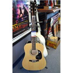 Authentic Tim McGraw Signed Fender Full-Size Acoustic Guitar (JSA COA)