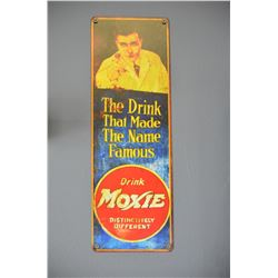 Moxie Drink Sign