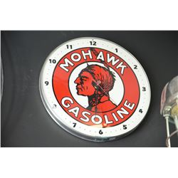 Mohawk Gasoline Clock