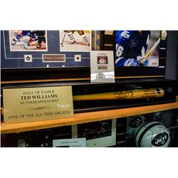 Ted Williams - Autographed Bat