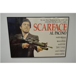 """Scarface"" - Movie Poster (Prof.-Framed)"