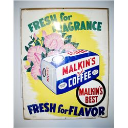 "Original ""Malkin's Coffee Print"